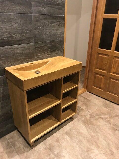 wooden basin to a sauna